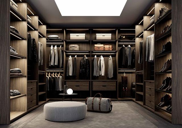 定制轻奢风格衣柜