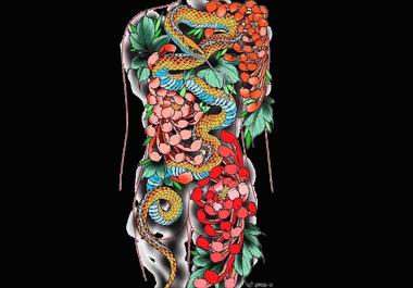 沈阳纹身培训-新老传统纹身手稿