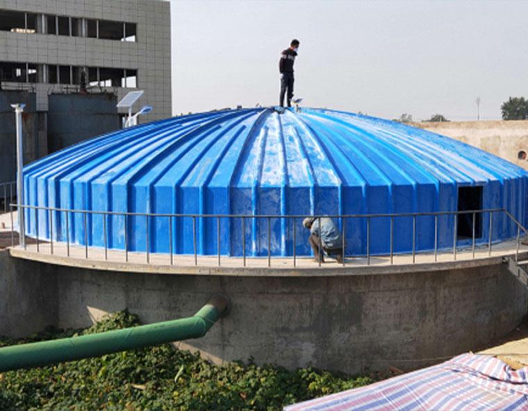 玻璃钢污水池集气罩可以重复使用吗?