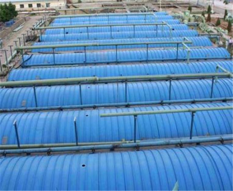 分享玻璃鋼污水池集氣罩加蓋的除臭原理有哪些?