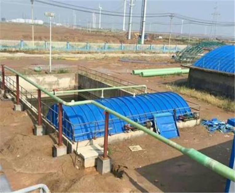 玻璃鋼污水池集氣罩美觀、實用