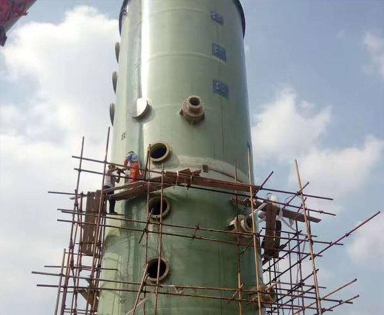 玻璃钢吸收塔厂家怎样打造竞争?