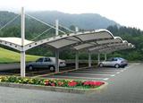 酒店膜结构车棚