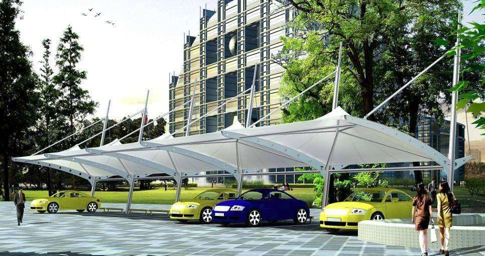 膜结构停车棚最基本的除生锈的方法有哪些