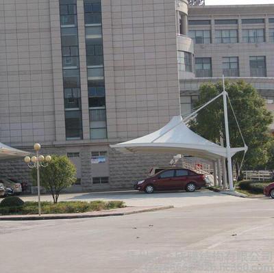 膜结构公司停车棚