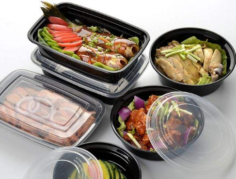 塑料食品盒