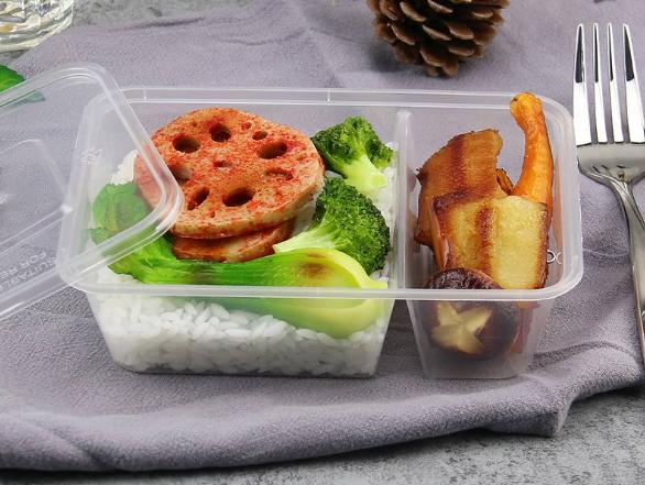 食品塑料打包盒