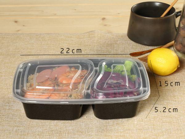美式长方形餐盒