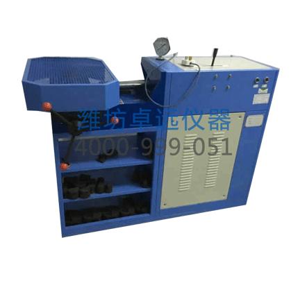混凝土盾管片抗渗检漏设备是检验管片混凝土的抗渗能力是否达到设计要求,从而为管片的耐久性提供依据。