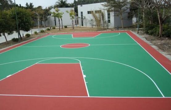 硅pu篮球场怎么施工