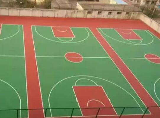 硅pu篮球场使用特性是什么?