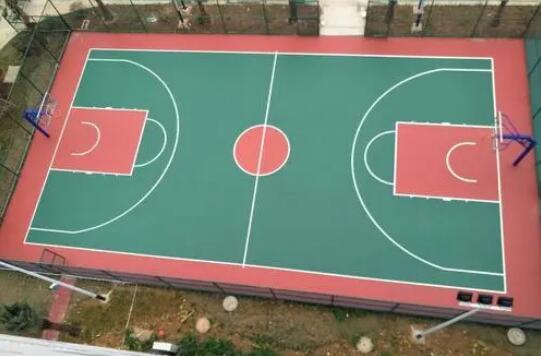 硅PU球場設計注意事項