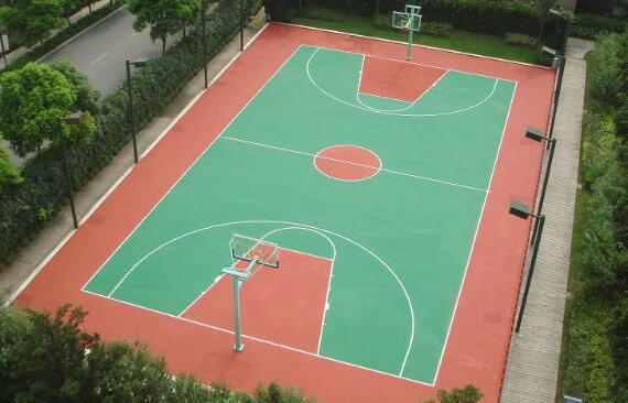 舒适性对硅pu篮球场的重要性