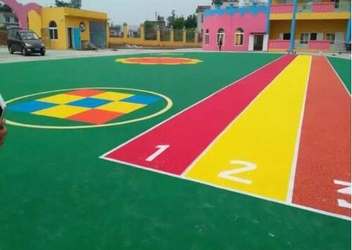 EPDM彩色颗粒广场的主要施工方法