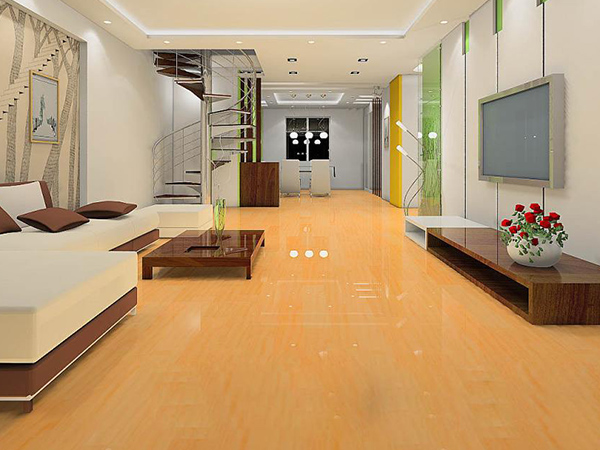 【上海】九城湖滨国际 自发热实木地板安装实景欣赏