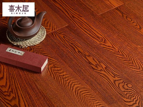 新三层白蜡木实木复合地板
