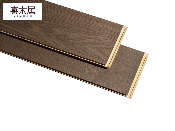 白蜡木实木新三层地板
