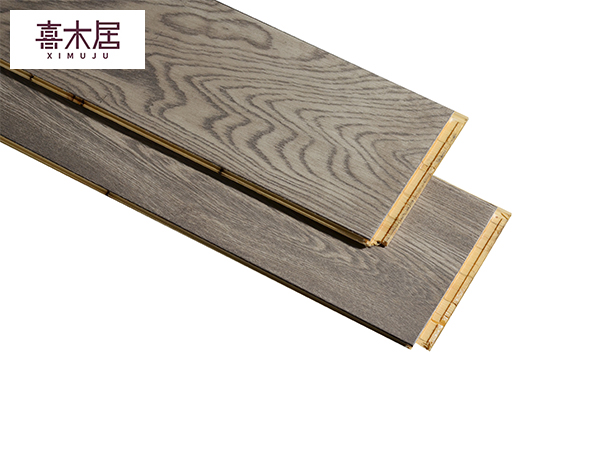 喜木居新三层橡木实木板