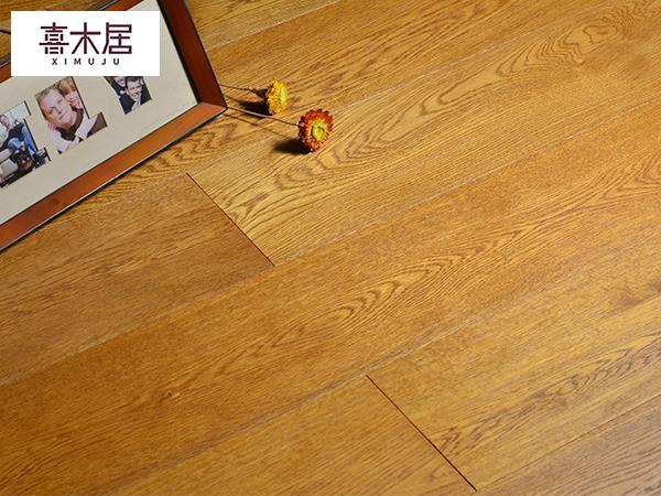 红橡实木多层复合地板