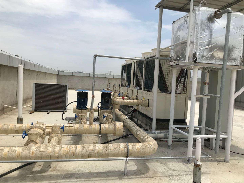 厂房中央空调外机消毒