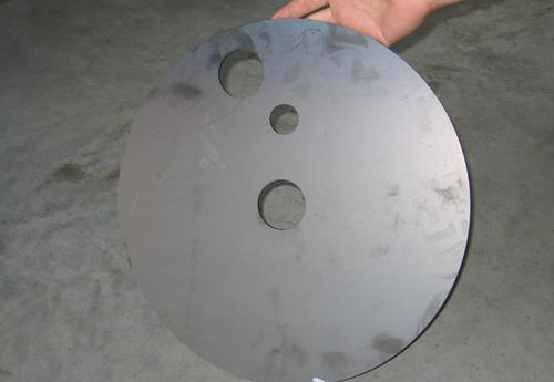 圆形平面激光切割