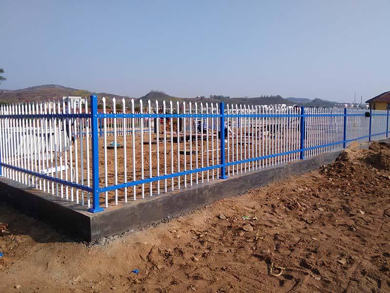草坪鋅鋼護欄