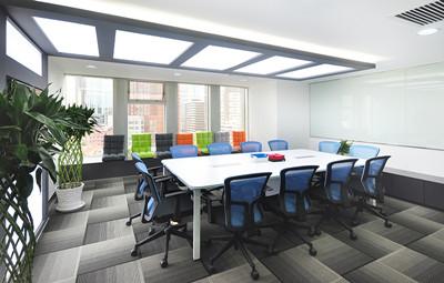 传媒公司办公室装修必须营造出具有创造氛围的空间,办公室空间设计
