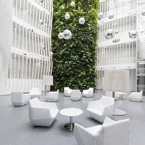 立体绿植墙