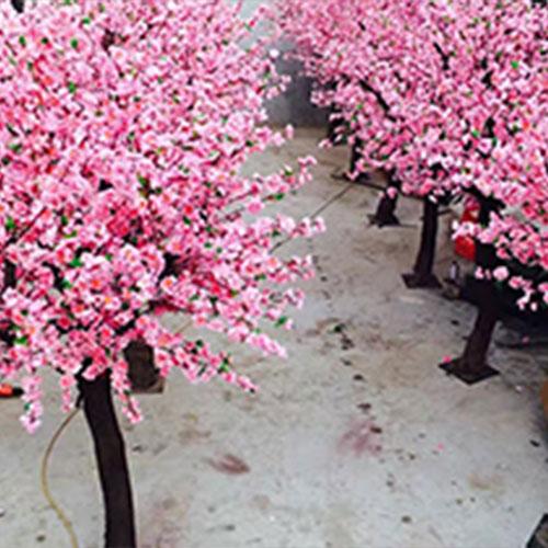 室外仿真桃树