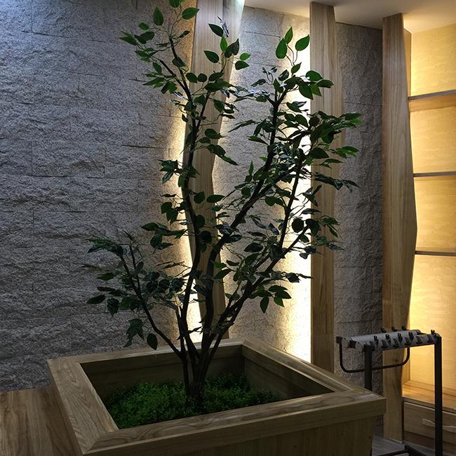 室内仿真榕树