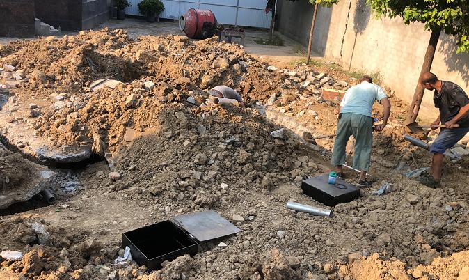 王寨卫生院污水处理项目
