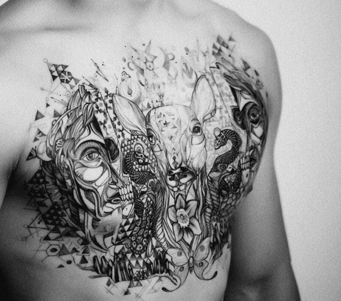 文君纹身告诉你纹身油墨去哪儿了?
