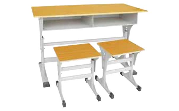 双人课桌凳