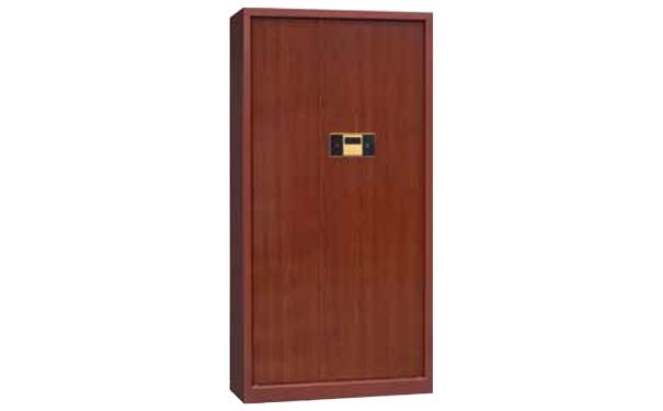 电子保密柜(红木纹)