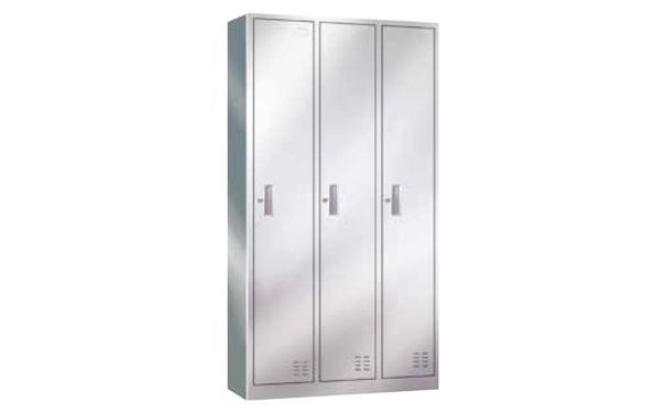 不锈钢三门更衣柜