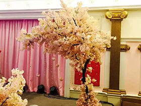 室内仿真樱花树景观
