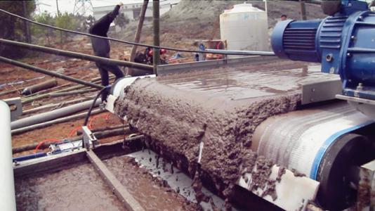 石材厂污泥脱水设备