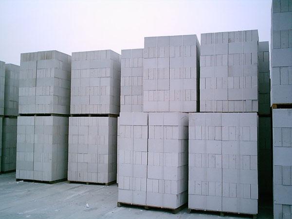 绵阳加气砌块砖厂家谈谈蒸压加气混凝土砌块的优势