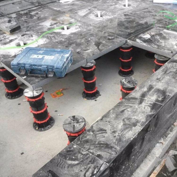 石材地板架空器