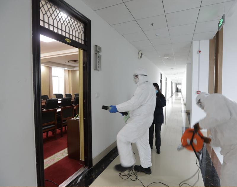 大型场所室内消毒
