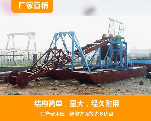 大型挖沙船