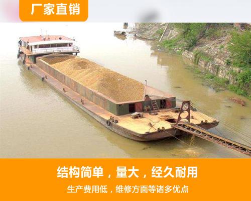 河道淘金船