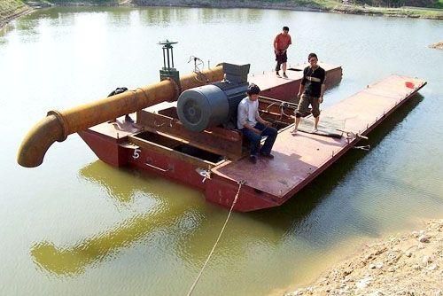 关于淘金船的存放--山东挖沙船生产厂家