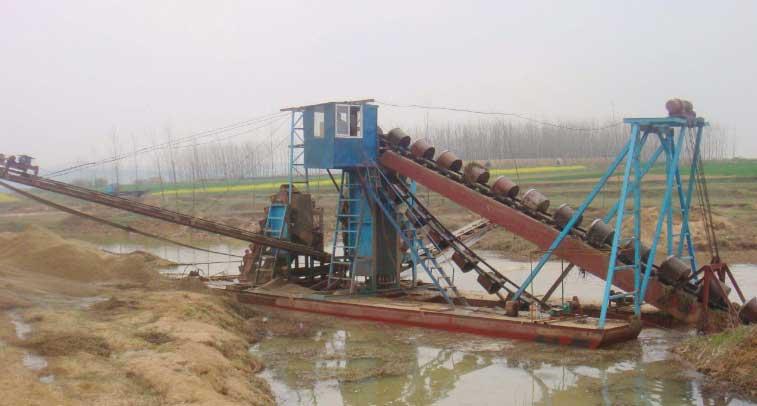 绞吸式抽沙船实现了资源的可持续性