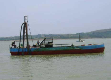 抽沙船抽沙深度与产量有关联