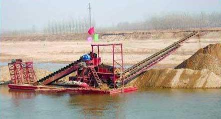 淘金船浮选方法的应用--山东挖沙船生产厂家
