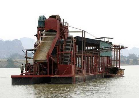 淘金船是如何进行开机发电的呢