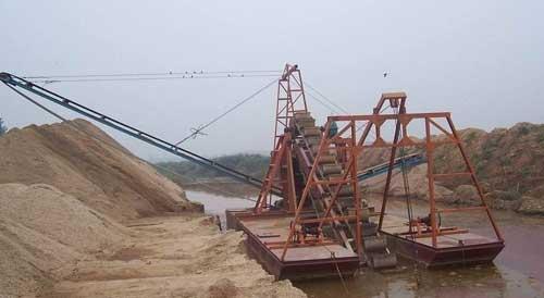 海口挖沙船