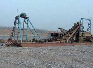 挖沙船的工作能力介绍