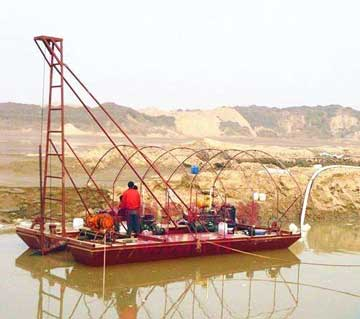 浅析设计挖沙淘金船输送带需要注意的细节